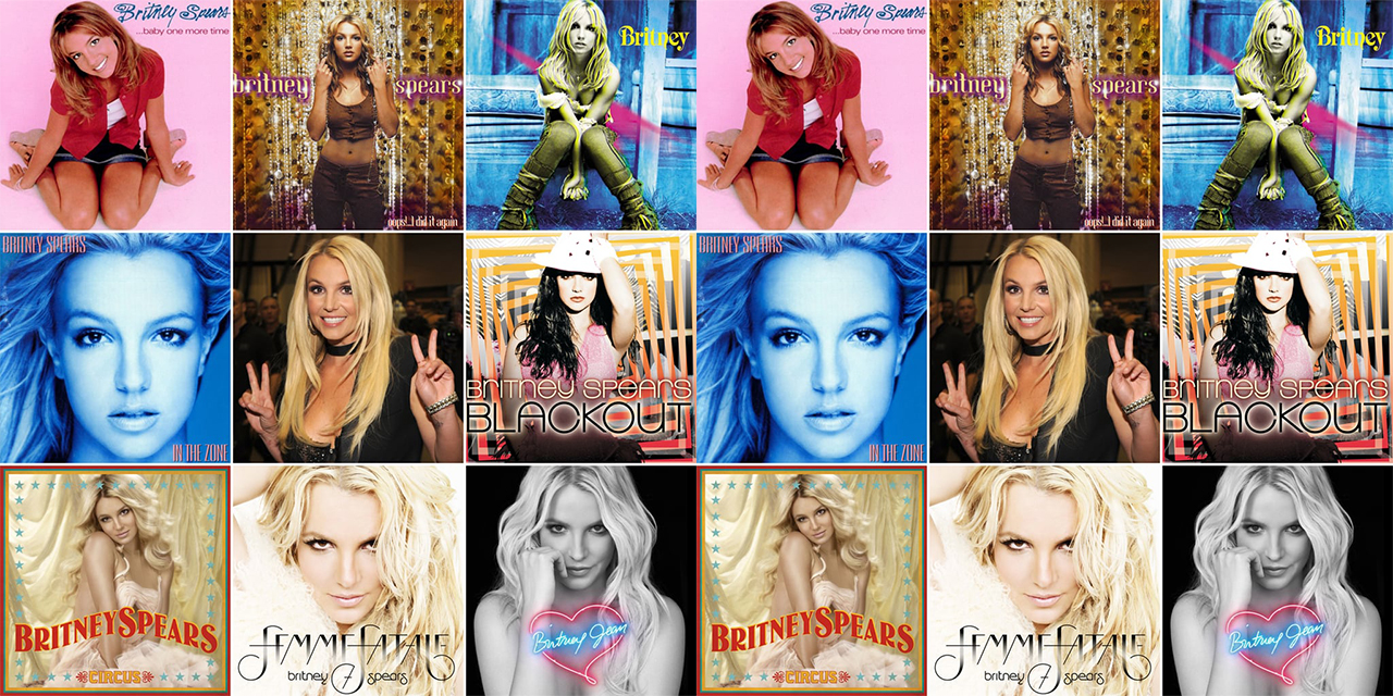 Britney Spears All Album